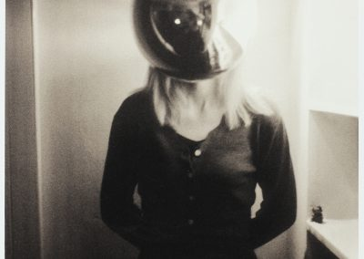 'Girl with a silver head' 1999